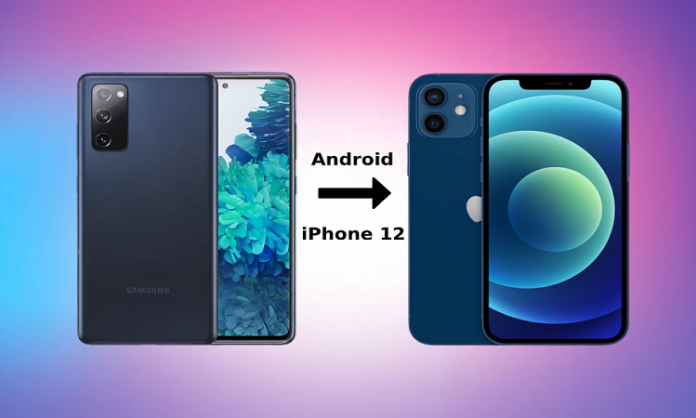 How to Migrate Data from Android Phone to New iPhone 12 (4 Methods)